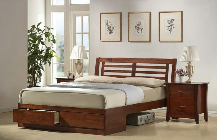 Двуспальная кровать Verso