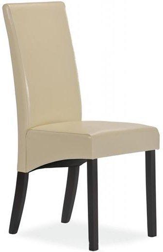 Деревянное кресло с мягкой обивкой C-124