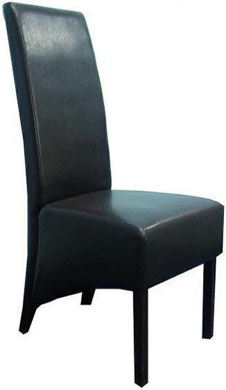 Деревянное кресло с мягкой обивкой Donadoni
