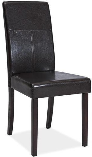 Деревянное кресло с мягкой обивкой C-114