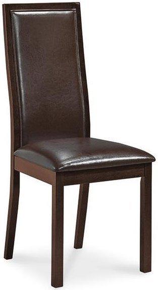 Деревянное кресло с мягкой обивкой C-56