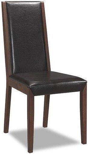 Деревянный стул с мягкой обивкой C-61