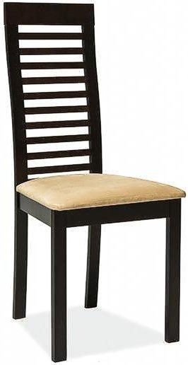 Деревянный стул с мягкой обивкой C-22