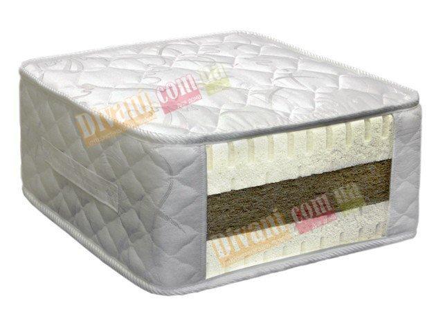 Односпальный матрас Коко-Латекс - 1 C серия Премиум — 90x200 см