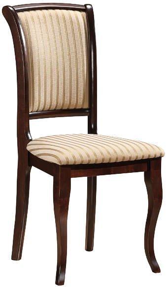 Деревянный стул с мягкой обивкой MN-SC