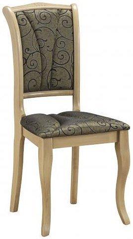 Деревянный стул с мягкой обивкой OP-SC