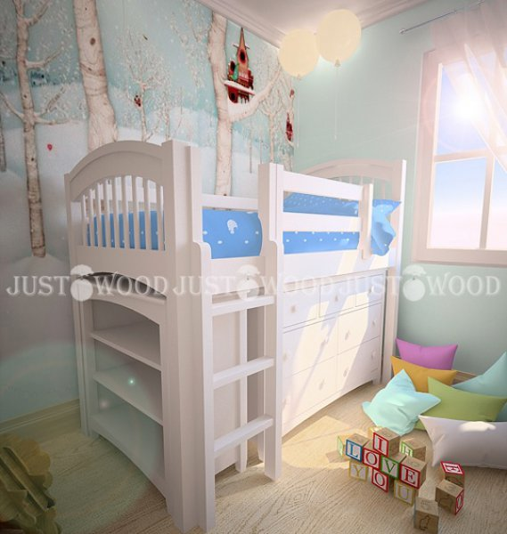Детская кровать Снежок - 90х190см