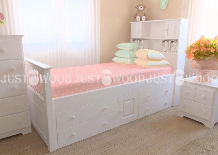Детская кровать Папа Карло - 80х160см