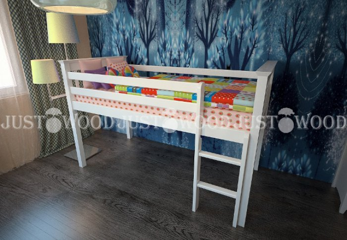 Детская кровать Теремок - 80х160см