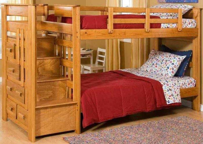Детская двухъярусная кровать Авоська