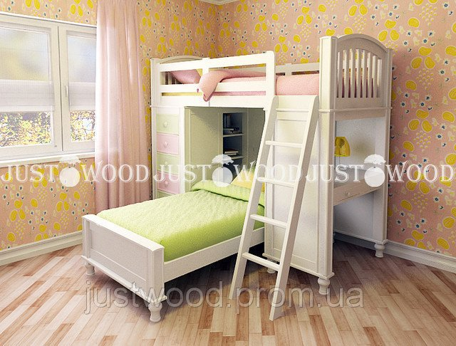 Двухъярусная кровать Гуффи 1
