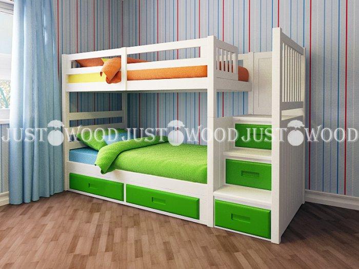 Детская двухъярусная кровать Шериф +