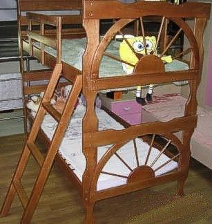 Двухъярусная кровать Матроскин