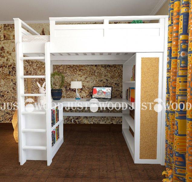 Детская кровать-чердак Лофт