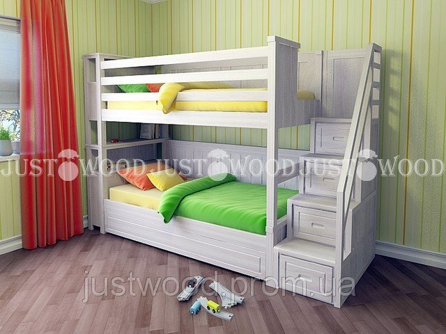 Двухъярусная кровать Синдерелла +