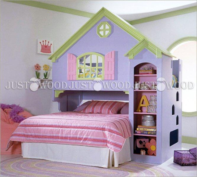 Детская двухъярусная кровать Замок