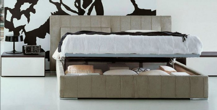 Двуспальная кровать Molteni-Brown 180x200