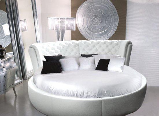 Круглая кровать Venera 180x220