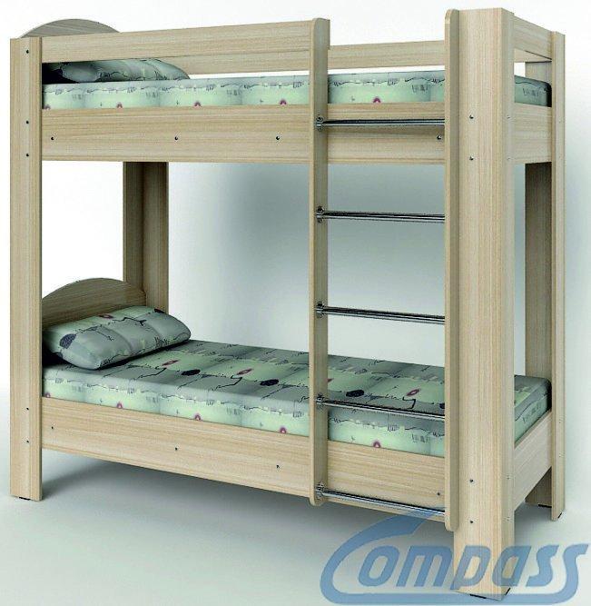 Кровать двухъярусная КД-02 Компасс Эконом-Стандарт