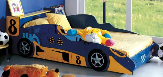 Односпальная кровать -машина Krzyś