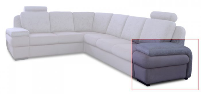 Модуль дивана Апполо Подлокотник