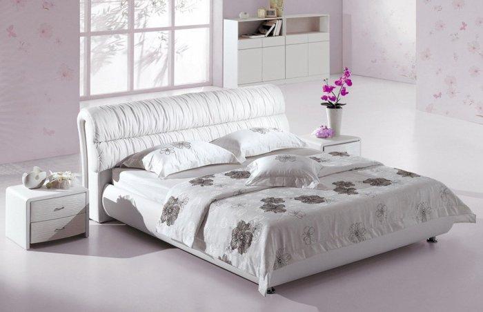 Двуспальная кровать Беатрис с подъемным механизмом - 160см
