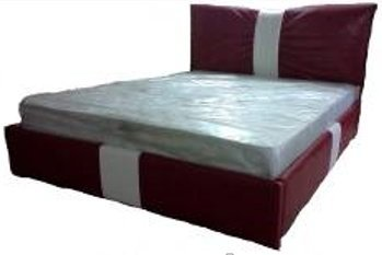 Двуспальная кровать Виолетта с подъемным механизмом - 160см