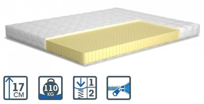 Односпальный матрас Latex — 90x200 см
