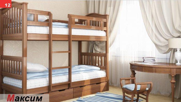 Двухъярусная кровать Максим