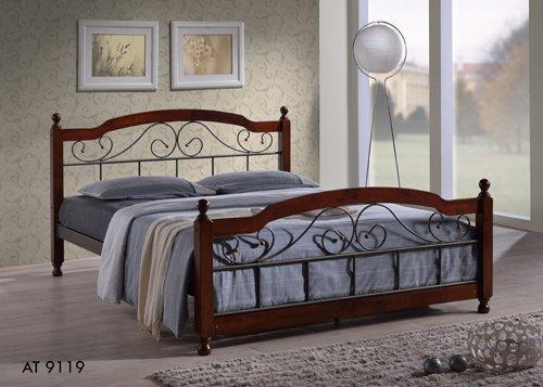 Двуспальная кровать  АТ - 9119 200x160см