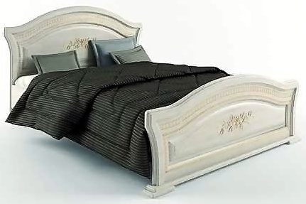 Двуспальная кровать 160 Венера Люкс