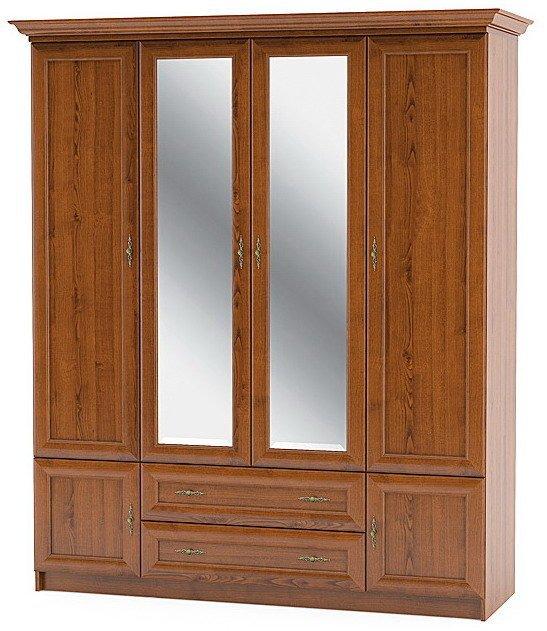 Шкаф 4Д спальня Даллас