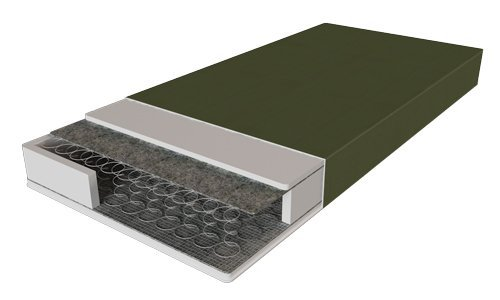 Полуторный матрас Ortomed — 120x200 см