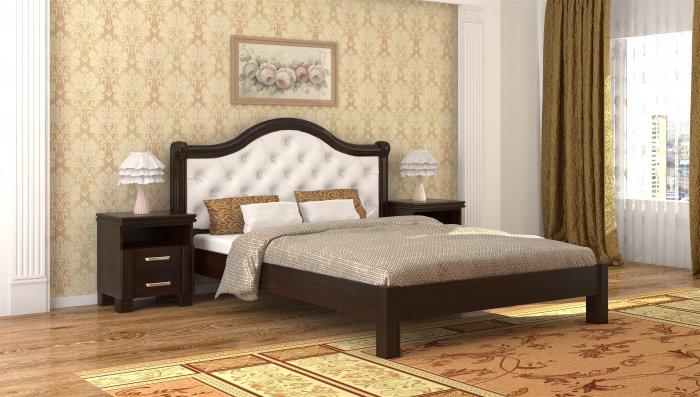 Полуторная кровать Екатерина - 140x190-200см