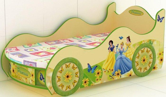 Кровать -машинка Princes-KM-380 Принцесса