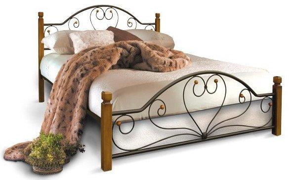 Полуторная кровать Джоконда дерево - 140х190-200см