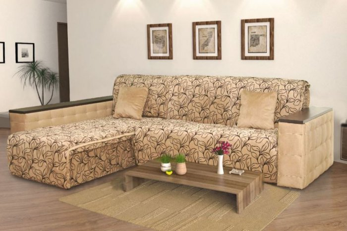 Угловой диван Модерн NEW - спальное место 120+70 см