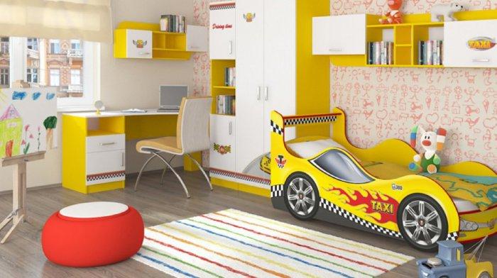 Модульная детская Такси
