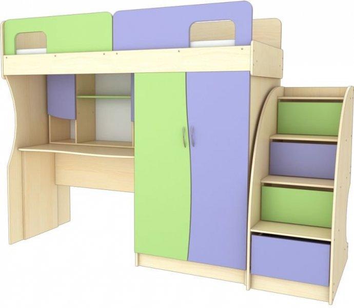 Детская спальня №1 Меридиан