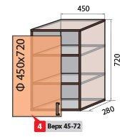 Модуль №4 в 450-720 верх кухни