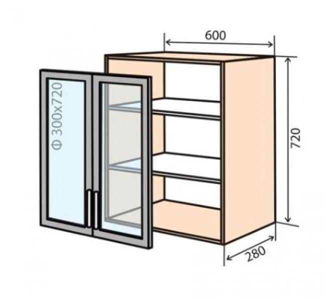 Модуль №6 в 600-720 верх кухни