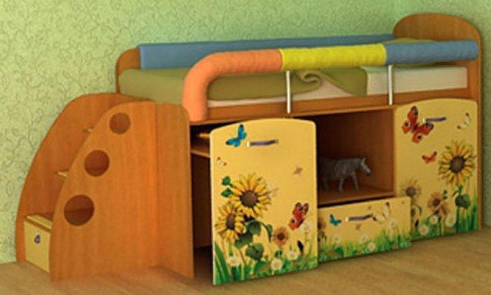Кровать M-L-01 Малыш (без лестницы)