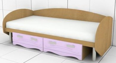 Кровать O-L-01,02 Ольвия