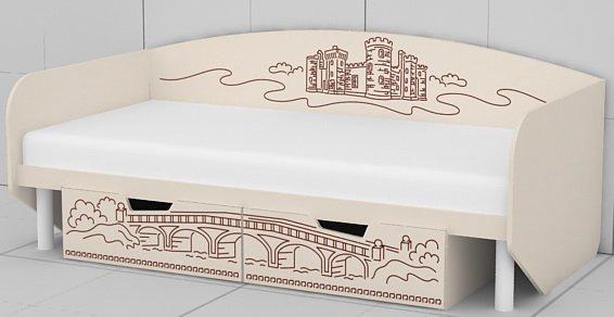 Кровать KM-L-01, 02 Париж