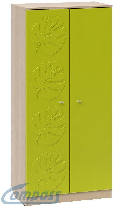 Шкаф с объемным узором МДМ-8 Маугли 3D