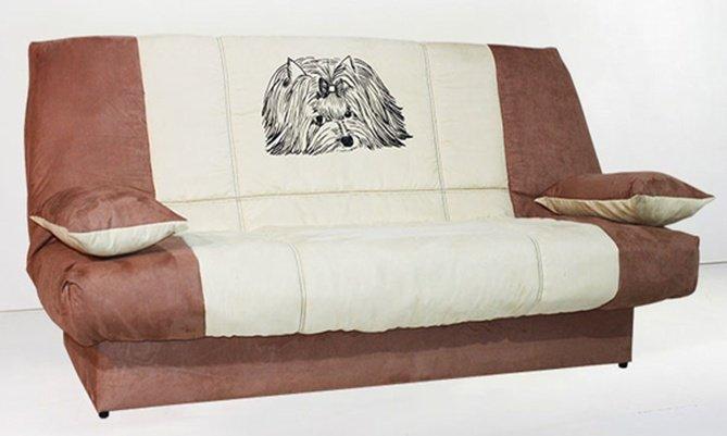 Ортопедический диван Joy с принтом