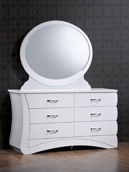 Будуарный стол + зеркало Эвита