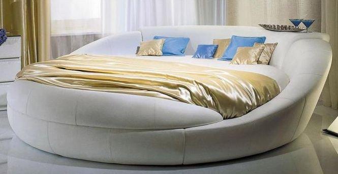 Круглая кровать Сиена (Siena)