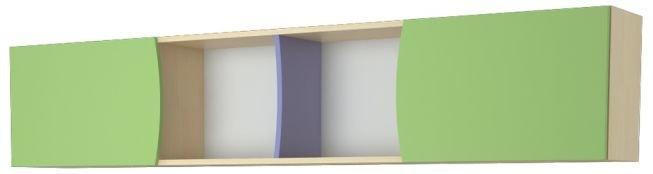 Полка над кроватью Меридиан
