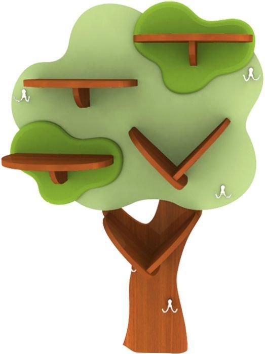 Полка-деревце Малый Дубок Лунная Сказка